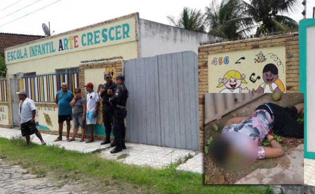 Estrangeiros são assassinados em terreno de escola em Ceará-Mirim