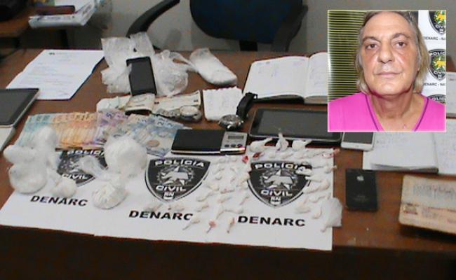 Italiano é preso suspeito de tráfico de drogas em Ponta Negra