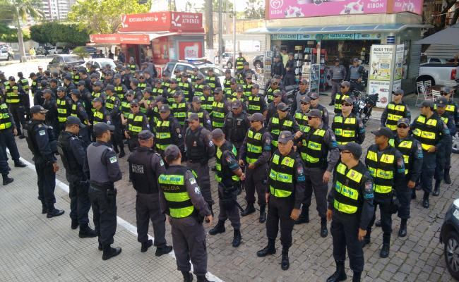 PM terá 500 policiais na segurança durante o clássico entre ABC e América