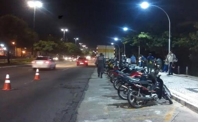 Polícia Militar apreende 62 motocicletas durante Operação Motociclo
